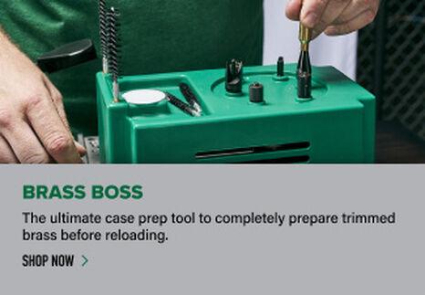 Reloader using Brass Boss