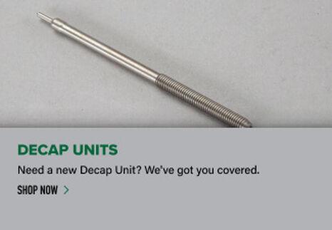 Decap Unit on light background