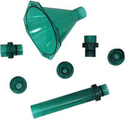 Quick Change Powder Funnel Kit